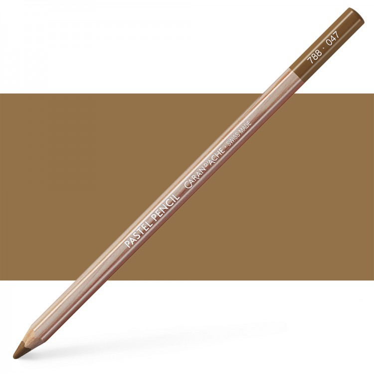 Caran d'Ache : Pastel Pencil : Bistre