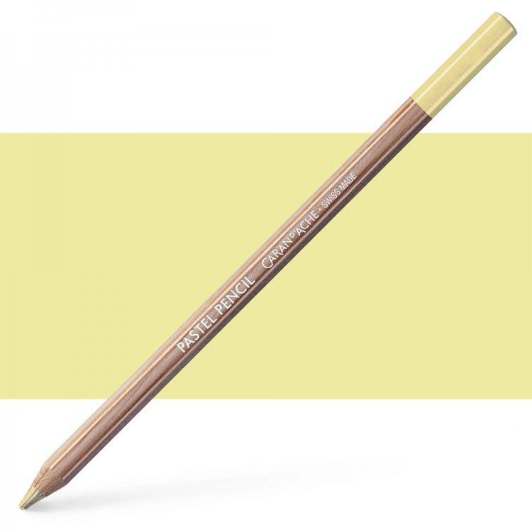 Caran d'Ache : Pastel Pencil : Light Lemon Yellow
