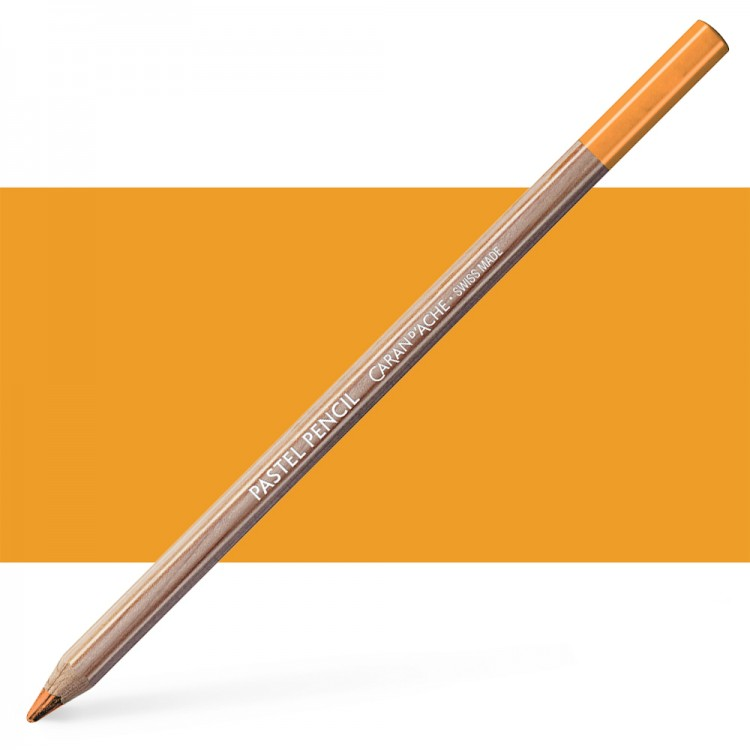 Caran d'Ache : Pastel Pencil : Fast Orange