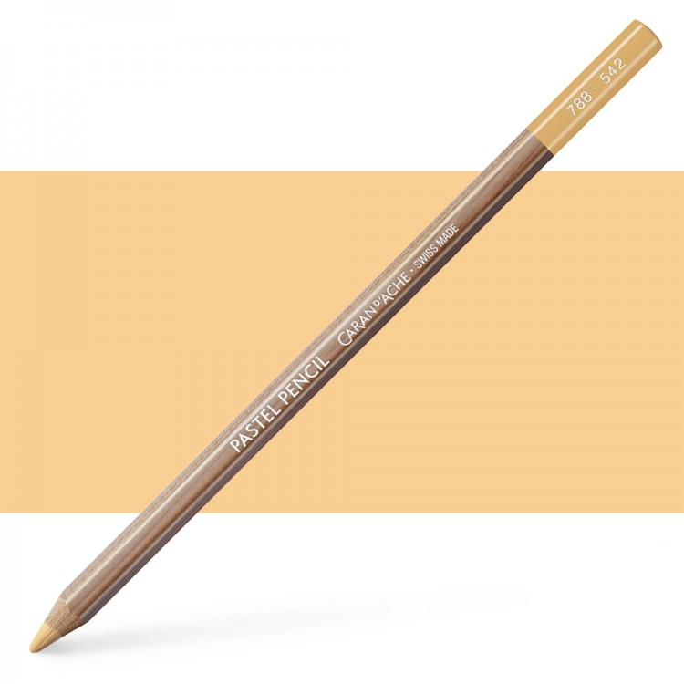 Caran d'Ache : Pastel Pencil : Light Flesh 10 Percent