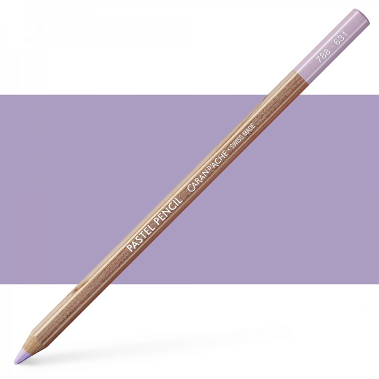 Caran d'Ache : Pastel Pencil : Light Ultramar. Violet