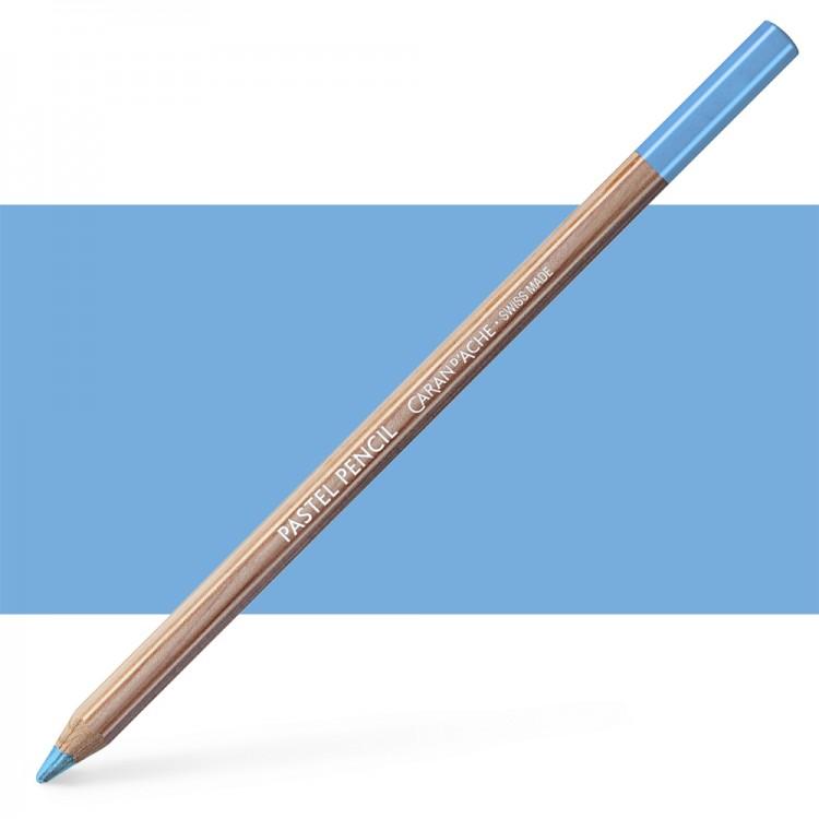 Caran d'Ache : Pastel Pencil : Cobalt Blue 30 Percent