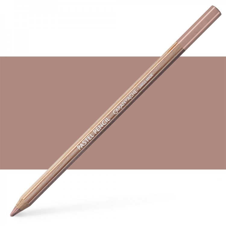 Caran d'Ache : Pastel Pencil : Dark Flesh 40 Percent