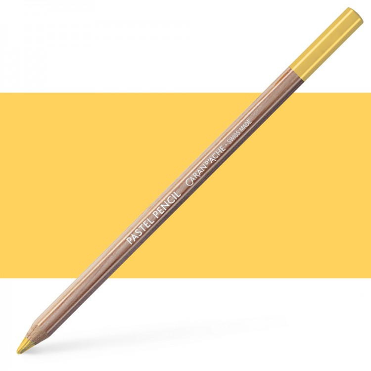 Caran d'Ache : Pastel Pencil : Golden Bismuth Yellow