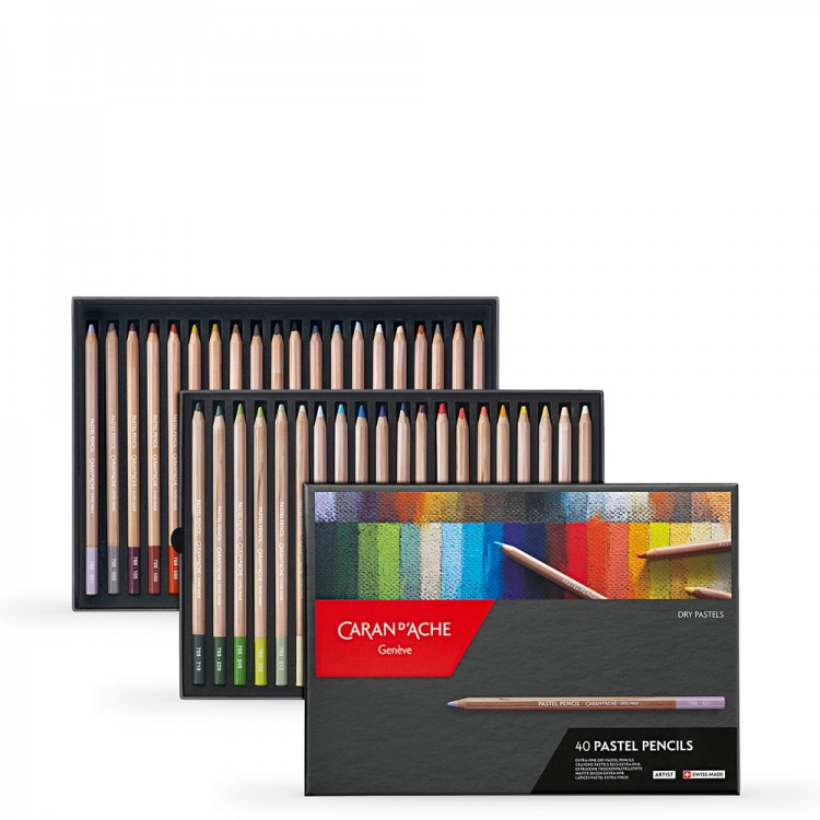 Caran d'Ache : Pastel Pencil Set of 40