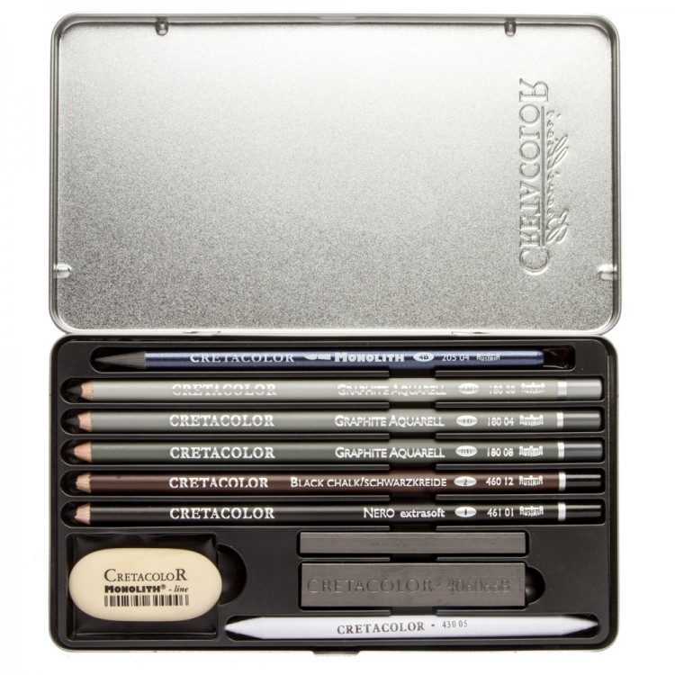 Cretacolor : Artino Graphite Drawing Set of 10