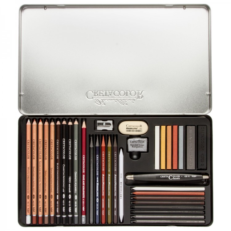 Cretacolor : Ultimo Drawing Set of 35
