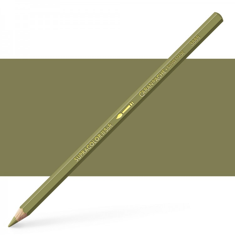 Caran d'Ache : Supracolor Soft : Watersoluble Pencil : Olive Brown