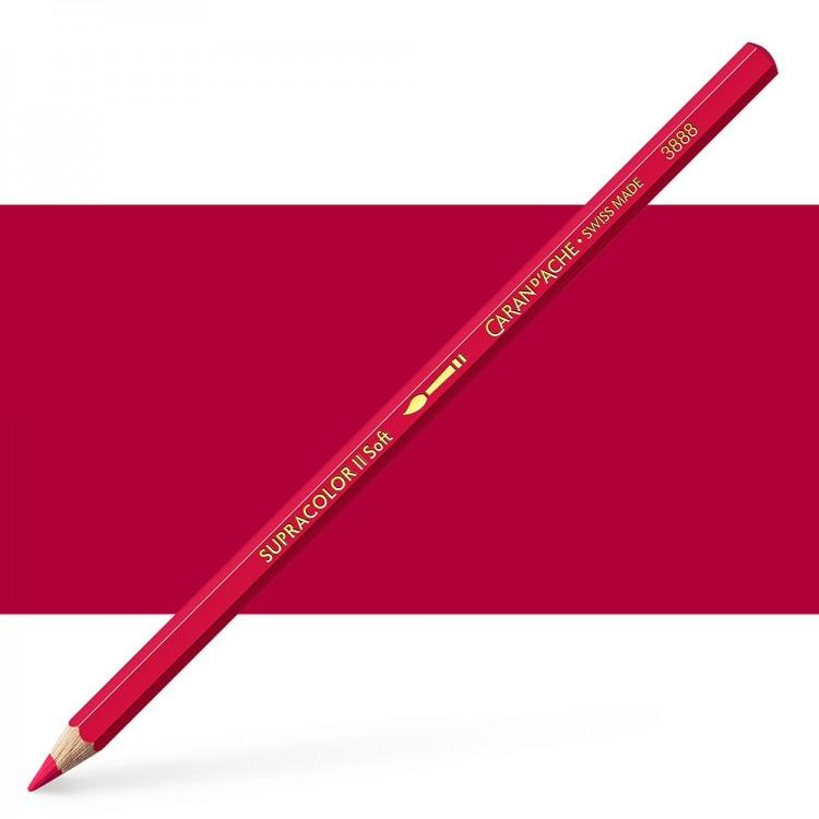 Caran d'Ache : Supracolor Soft : Watersoluble Pencil : Bordeaux Red