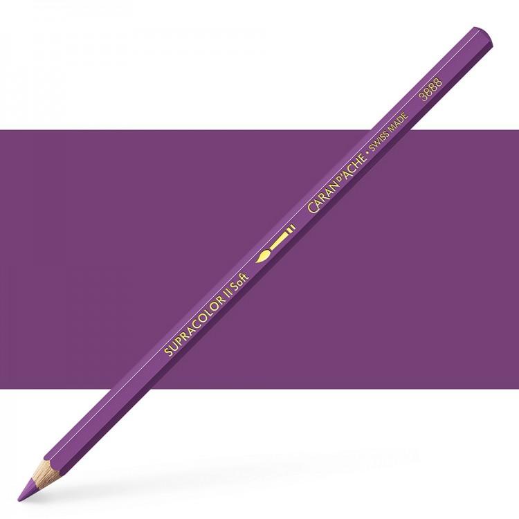 Caran d'Ache : Supracolor Soft : Watersoluble Pencil : Aubergine
