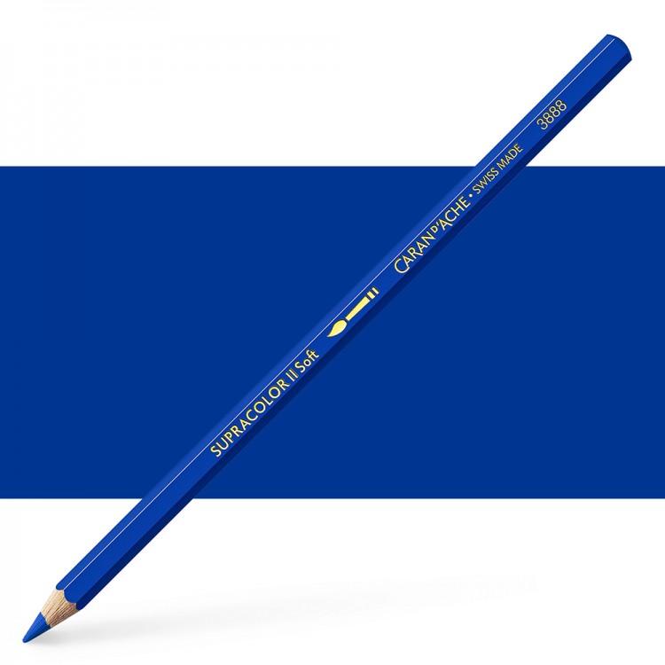 Caran d'Ache : Supracolor Soft : Watersoluble Pencil : Royal Blue