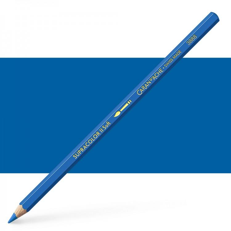 Caran d'Ache : Supracolor Soft : Watersoluble Pencil : Blue