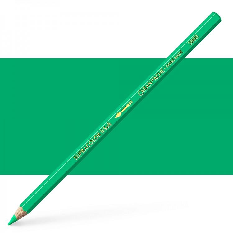 Caran d'Ache : Supracolor Soft : Watersoluble Pencil : Empire Green