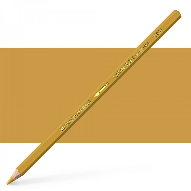 Caran d'Ache : Supracolor Soft : Watersoluble Pencil : Gold