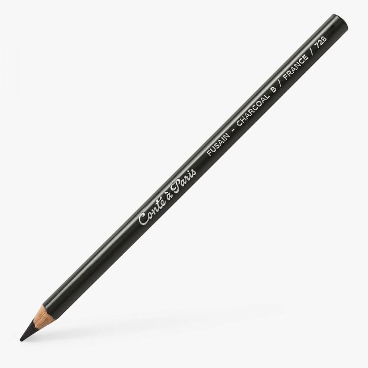 Conte : Charcoal Pencil : B