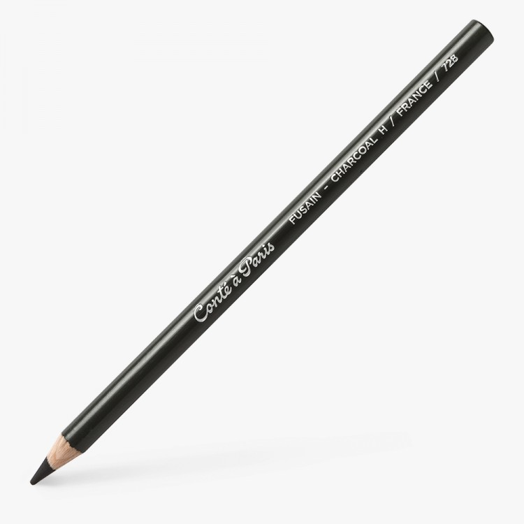 Conte : Charcoal Pencil : H