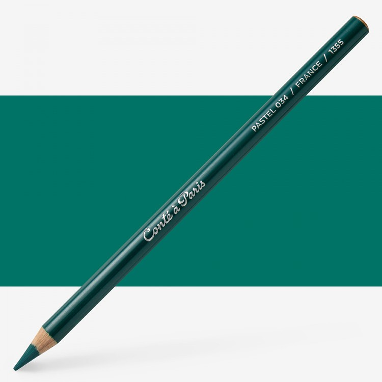 Conte : Pastel Pencil : Emerald Green 34