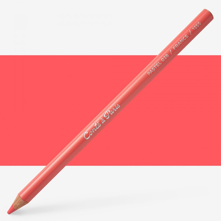 Conte : Pastel Pencil : Madder 38