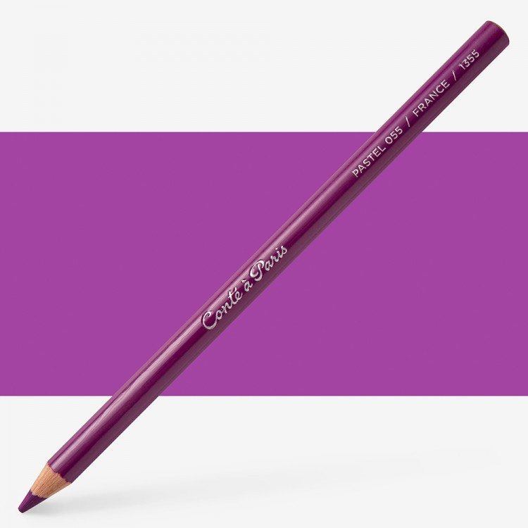 Conte : Pastel Pencil : Persian Violet 55
