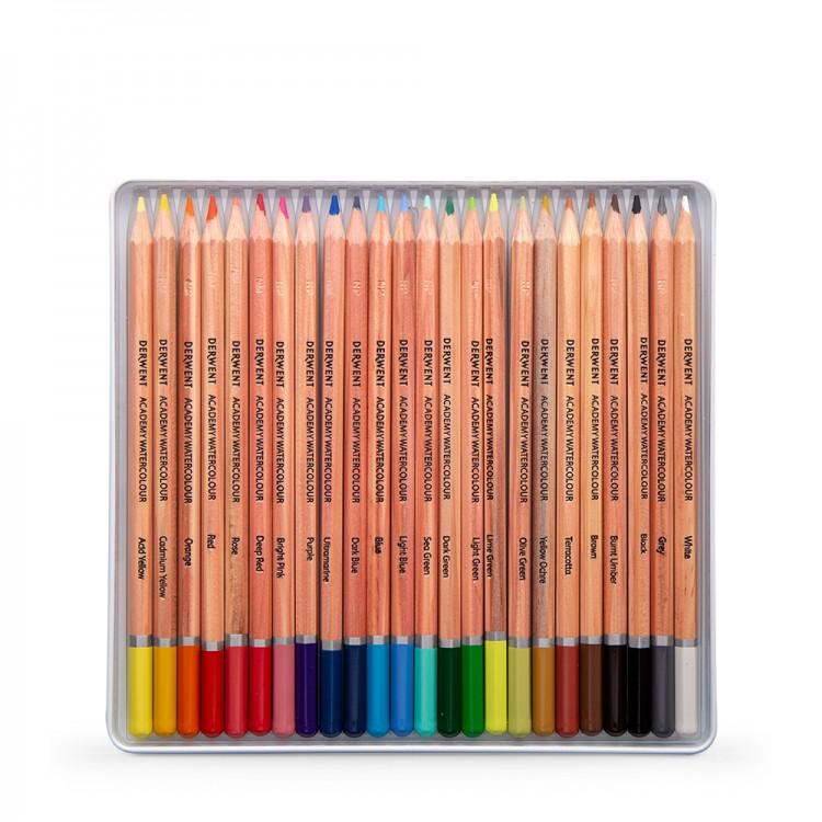 Derwent : Academy Watercolour : Tin Set of 24