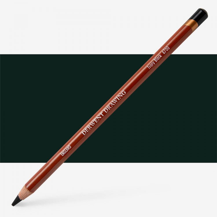 Derwent : Drawing Pencil : 6700 Ivory Black