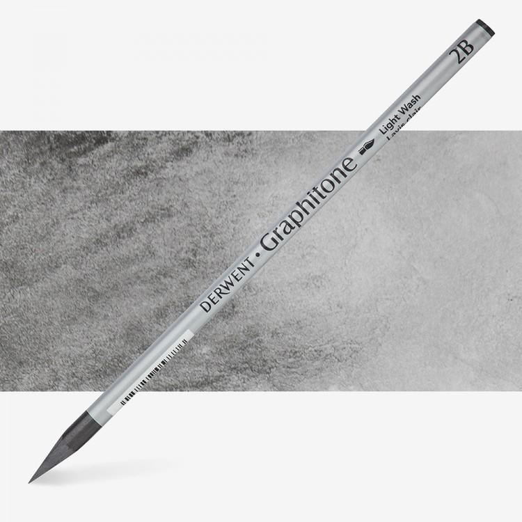 Derwent : Graphitone Watersoluble Graphite Pencil : 2B