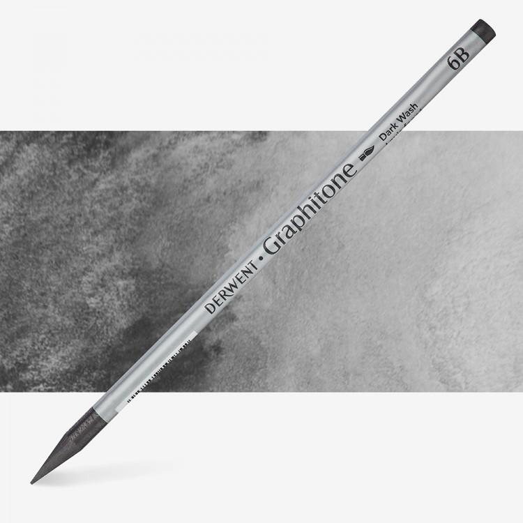 Derwent : Graphitone Watersoluble Graphite Pencil : 6B