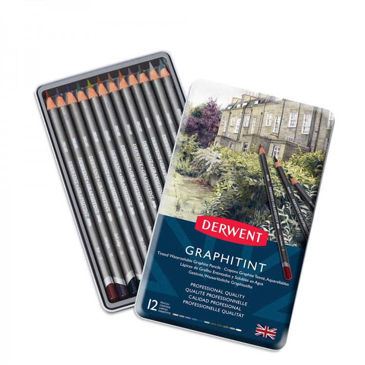 Derwent : Graphitint Pencil : Set of 12