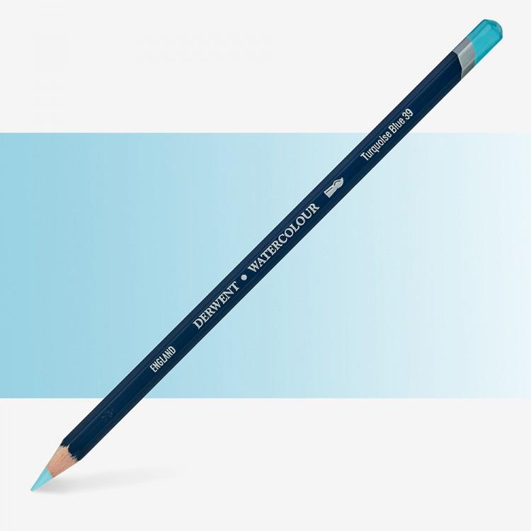 Derwent : Watercolour Pencil : Turquoise Blue