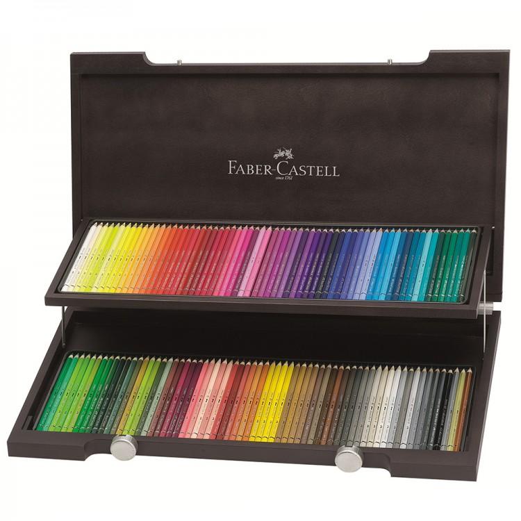 Faber Castell : Albrecht Durer Artists Watercolour Pencils : Wenge Wood Case of 120