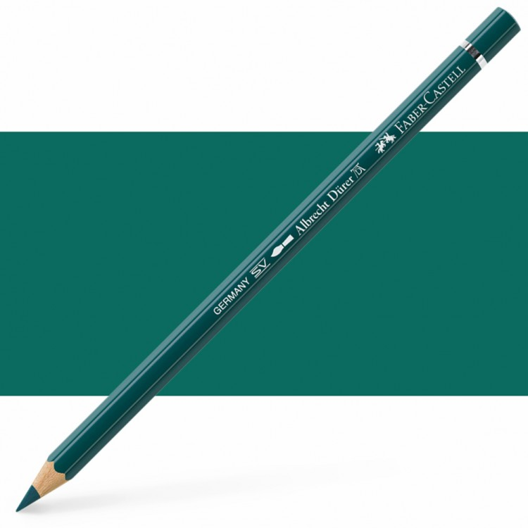 Faber Castell : Albrecht Durer Watercolour Pencil : Deep Cobalt Green
