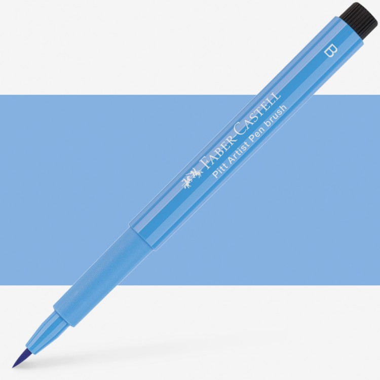 Faber Castell : Pitt Artists Brush Pen : Sky Blue