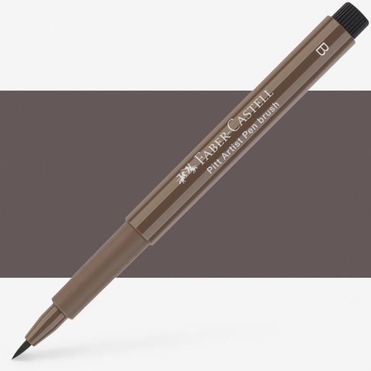 Faber Castell : Pitt Artists Brush Pen : Walnut Brown