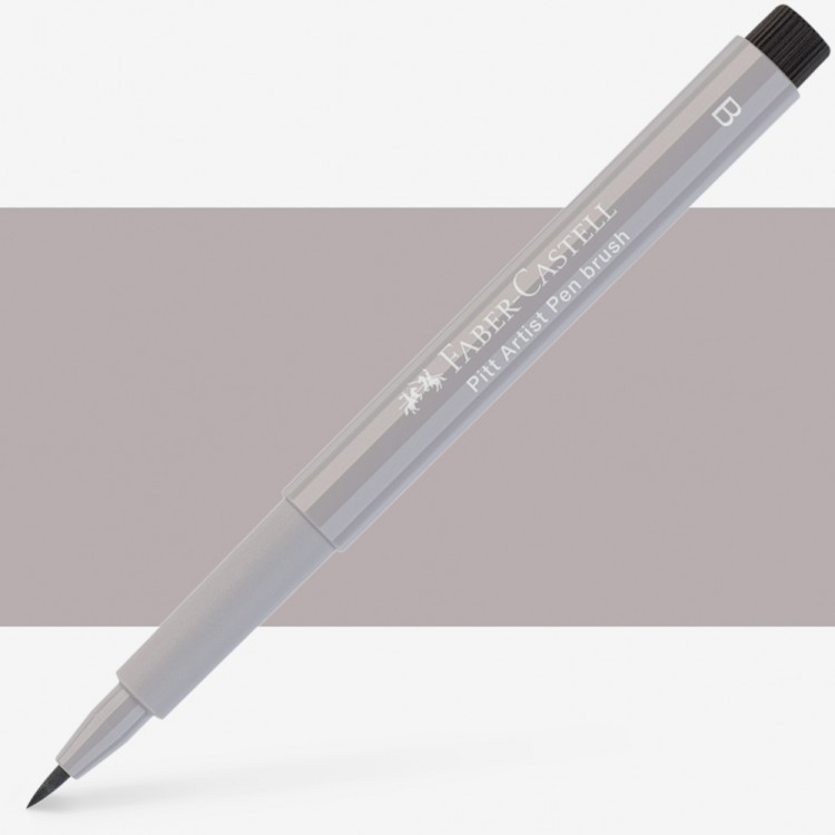 Faber Castell : Pitt Artists Brush Pen : Warm Grey Iii