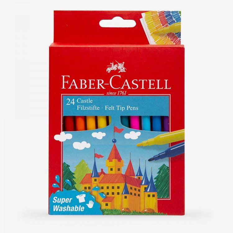 Faber Castell : Felt Tip Pens : Pack of 24