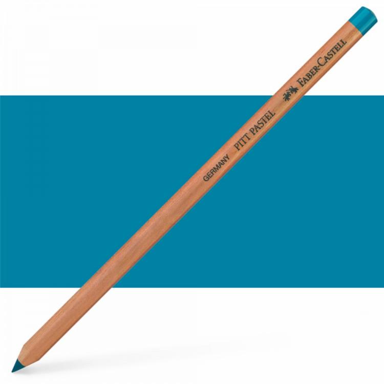 Faber Castell : Pitt Pastel Pencil : Cobalt Turquoise