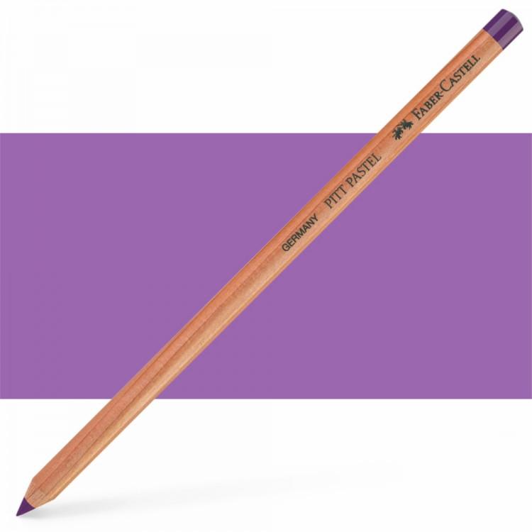 Faber Castell : Pitt Pastel Pencil : Manganese Violet
