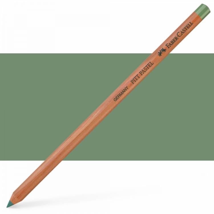 Faber Castell : Pitt Pastel Pencil : Earth Green