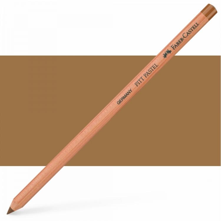 Faber Castell : Pitt Pastel Pencil : Raw Umber