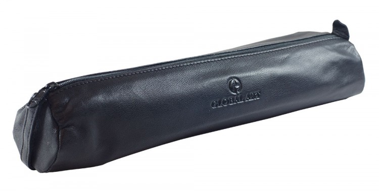 Global : Large Black : Pencil and Accessory Case