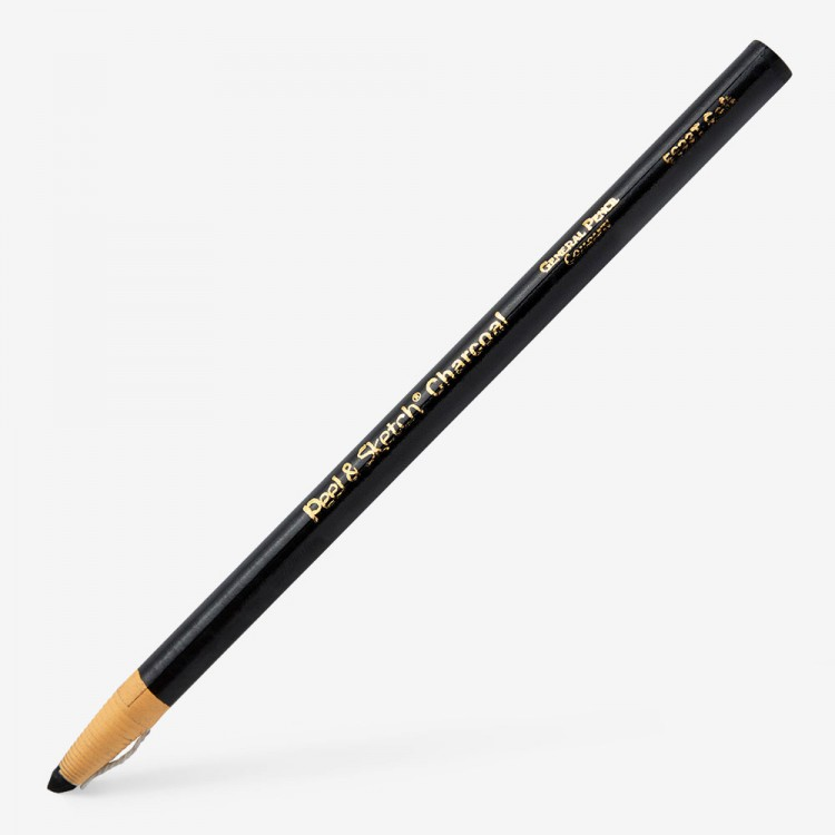 General Pencil Company : Charcoal wrap pencil 4B SOFT : Peel and Sketch
