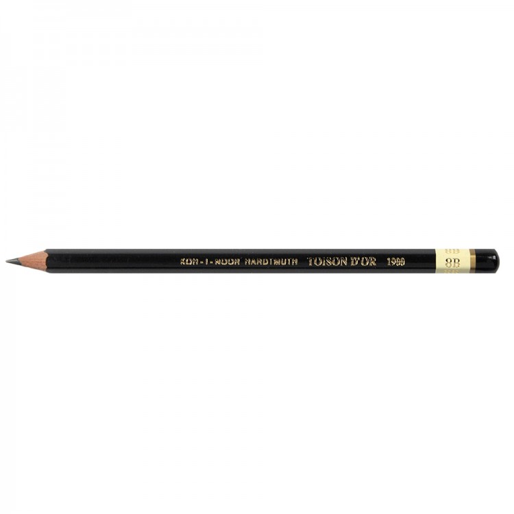 Koh-I-Noor : Toison d'Or : Graphite Pencils 1900 : 8B