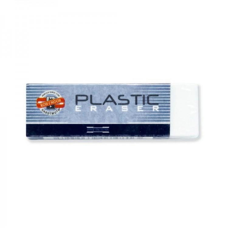 Koh-I-Noor : White Oblong Plastic Eraser 4770 : 60mm