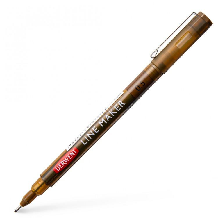 Derwent : Graphik Line Maker Pen : Sepia : 0.5mm