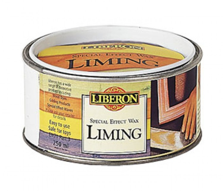 Liberon : Liming Wax 500ml : Ship By Road Only