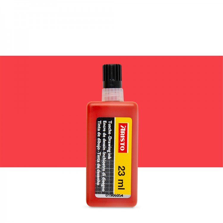 Aristo : Technical Pen Drawing Ink : 23ml : Red