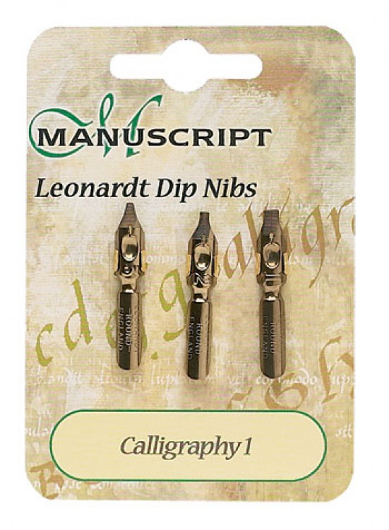 Manuscript : 3 Carded Nibs Calligraphy 1