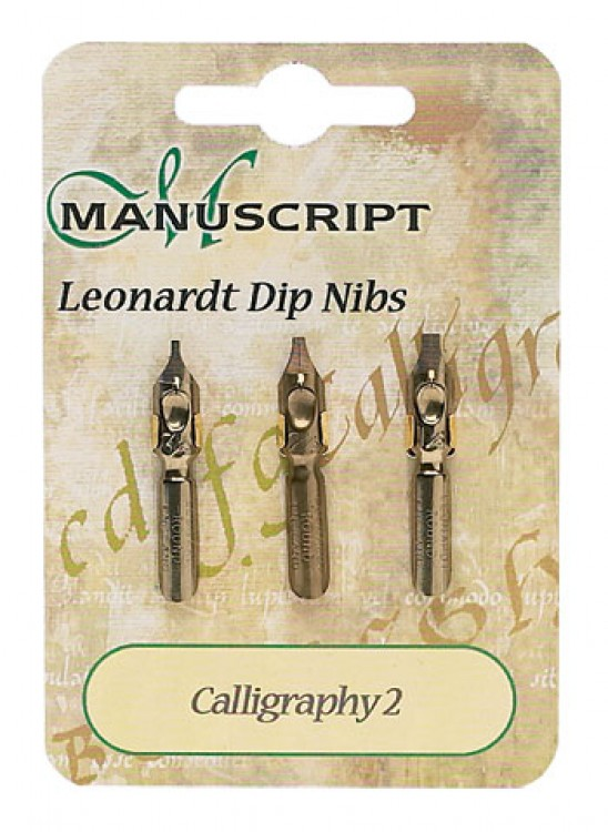 Manuscript : 3 Carded Nibs Calligraphy 2