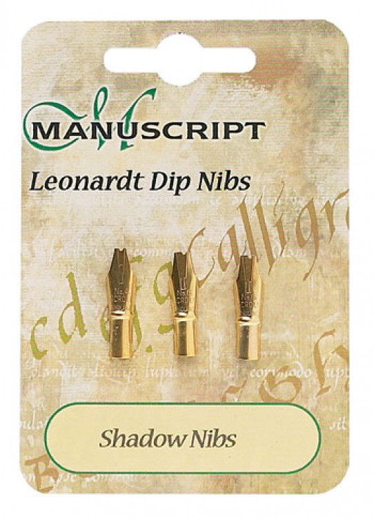 Manuscript : 3 Carded Nibs Shadow