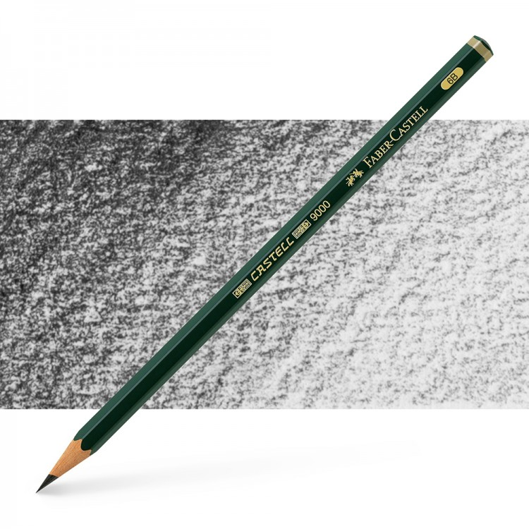 Faber Castell : Series 9000 Pencil : 6B